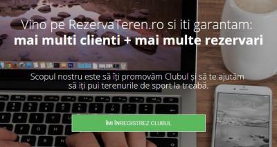 inregistrare club - RezervaTeren.ro