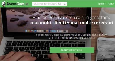 rezervari online terenuri sport