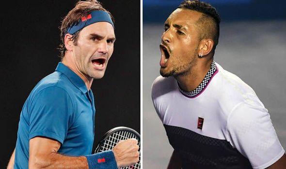Federer îi ia apărarea lui Kyrgios în disputa cu Nadal