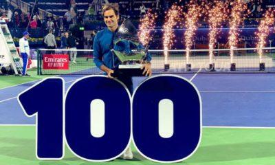 Roger Federer a câștigat titlul 100 din carieră